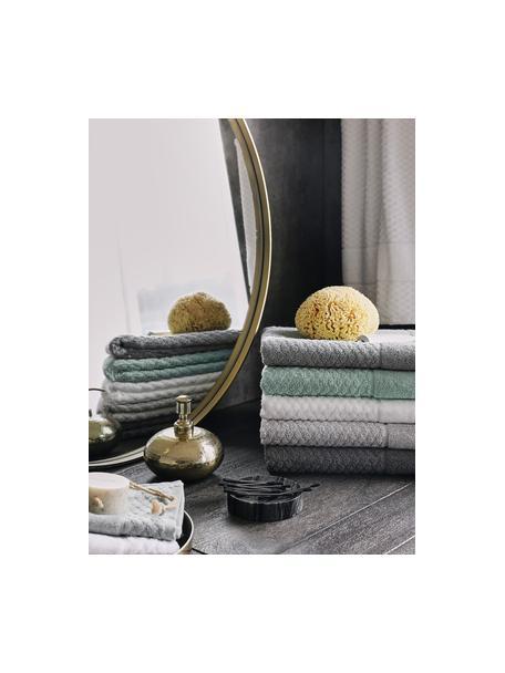 Komplet ręczników Katharina, 3 elem., Miętowy, Komplet z różnymi rozmiarami