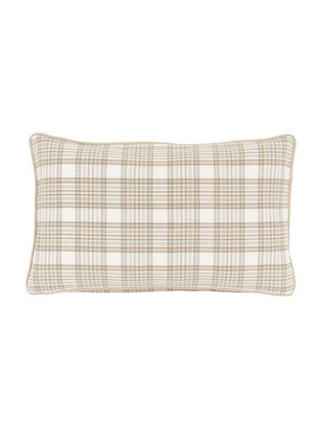 Poszewka na poduszkę z lamówką Stirling, 100% bawełna, Beżowy, S 30 x D 50 cm