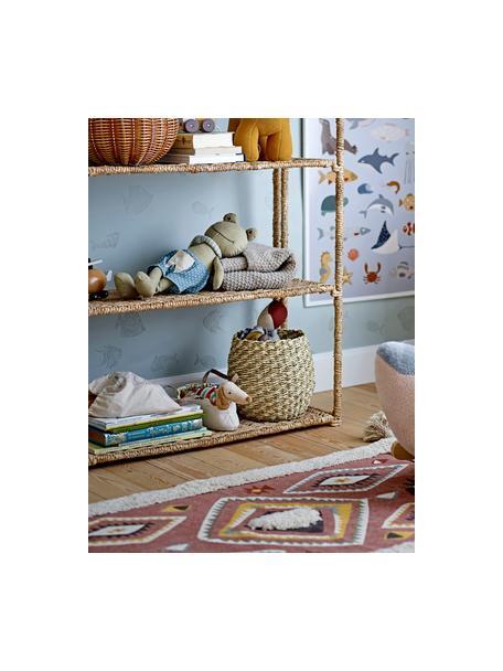 Spiel-Set Hilena, 2-tlg., 70% Polyester, 30% Baumwolle, Beige, Mehrfarbig, 28 x 15 cm
