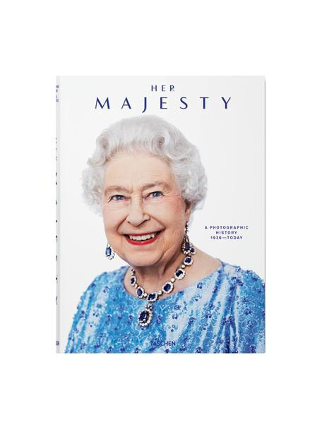 Libro illustrato Her Majesty. A Photographic History 1926–Today, Carta, copertina rigida, Multicolore, Larg. 25 x Lung. 34 cm