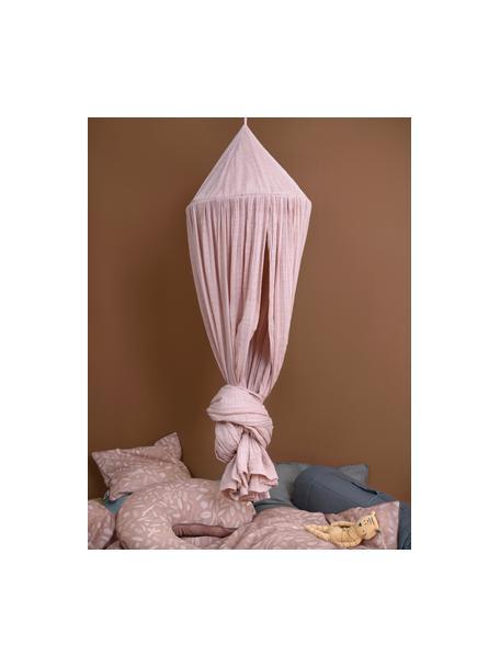 Baldachim Stars, Tapicerka: bawełna, Blady różowy, Ø 50 x W 240 cm