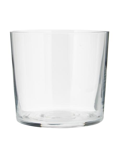 Filigrane Wassergläser Gio aus dünnem Glas, 6 Stück, Glas, Transparent, Ø 8 x H 7 cm