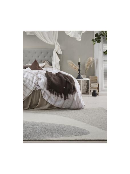 Alfombra artesanal Aspen, 52%lana, 35%poliéster, 13%poliamida, Beige, gris, An 200 x L 300 cm (Tamaño L)