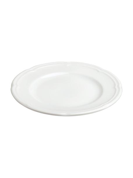 Talerz śniadaniowy z porcelany Ouverture, 6 szt., Porcelana, Biały, Ø 16 cm