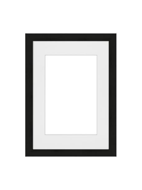 Fotolijstje Apollon, Lijst: gelakt Monterey-grenenhou, Zwart, 21 x 30 cm