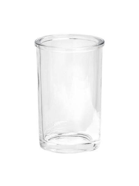 Zahnputzbecher Clear aus Glas, Glas, Transparent, Ø 7 x H 11 cm
