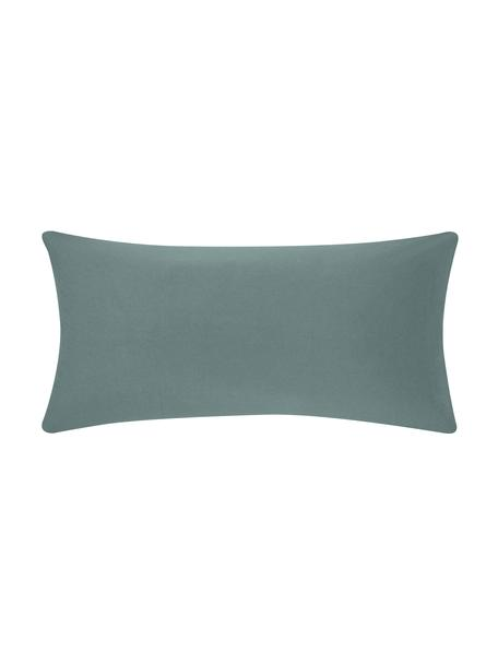 Flanell-Kissenbezüge Biba in Grün, 2 Stück, Webart: Flanell Flanell ist ein k, Grün, 40 x 80 cm