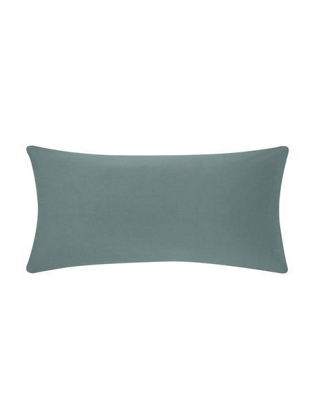 Poszewka na poduszkę z flaneli Biba, 2 szt., Zielony, S 40 x D 80 cm