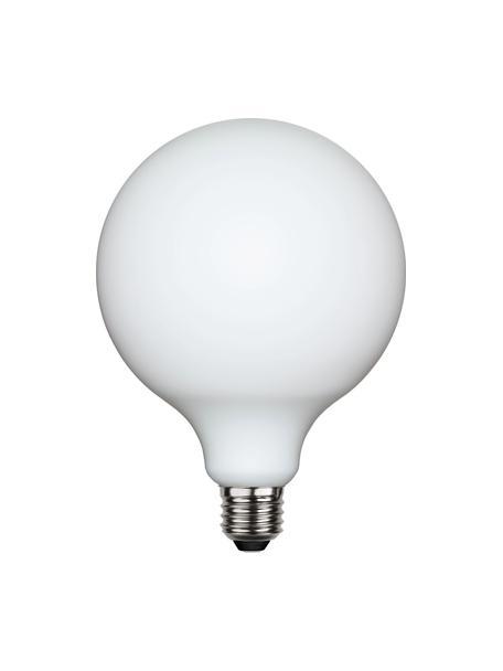 E27 Leuchtmittel, 5W, dimmbar, warmweiss, 1 Stück, Leuchtmittelschirm: Glas, Leuchtmittelfassung: Aluminium, Weiss, Ø 13 x H 18 cm