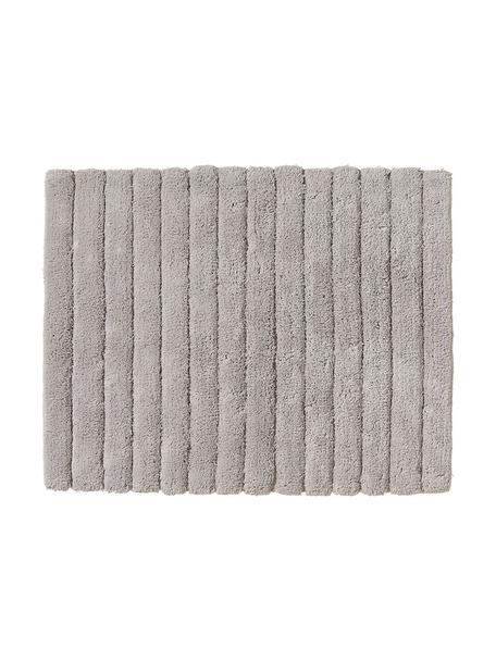 Tappetino da bagno grigio chiaro Board, Cotone, qualità pesante 1900g/m², Grigio chiaro, Larg. 50 x Lung. 60 cm
