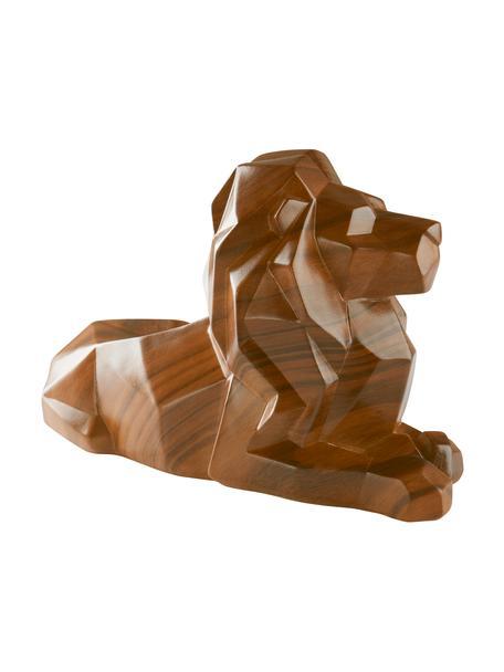 Figura decorativa Drey, Plástico, Marrón, An 36 x Al 21 cm
