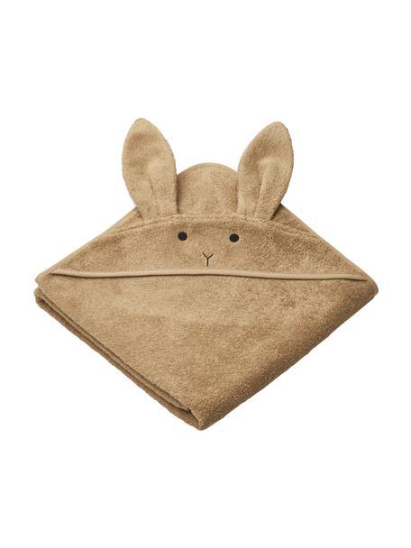 Babyhandtuch Augusta Rabbit, 100% Biobaumwolle, Braun, 100 x 100 cm