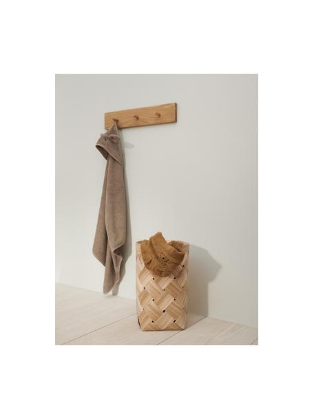 Asciugamano per bambini Rabbit, 100% cotone biologico, Marrone, Larg. 100 x Lung. 100 cm