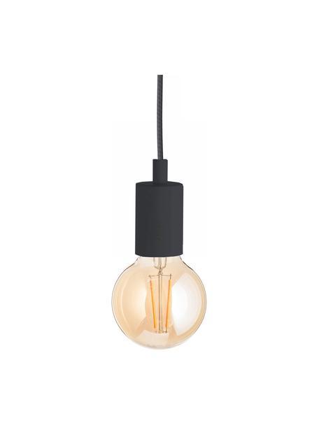 Lámpara de techo pequeña Color, Anclaje: plástico, Cable: plástico, Negro, Ø 5 x Al 6 cm