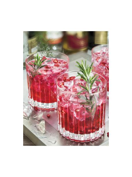 Kryształowy komplet do whisky Timeless, 7 elem., Szkło kryształowe Luxion, Transparentny, Komplet z różnymi rozmiarami