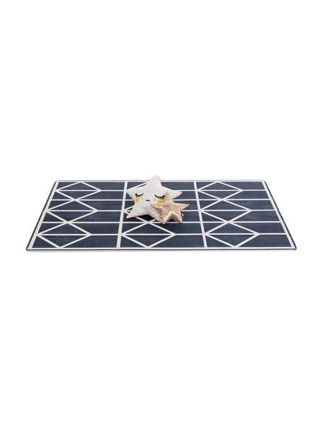 Set de alfombra de juegos Nordic, 18pzas., Espuma (EVAC), libre de productos tóxicos, Azul, crema, An 120 x L 180 cm