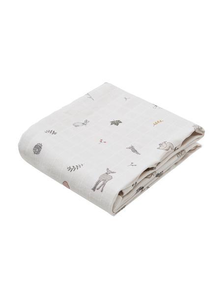 Pañales de tela Fawn, 2uds., 100%algodón ecológico, Blanco, marrón, beige, amarillo, rosa, verde, An 70 x L 70 cm