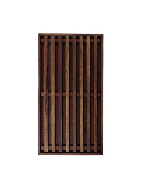 Akazienholz-Brotschneidebrett Wood Light, L 43 x B 23 cm, Akazienholz, Braun, 23 x 43 cm