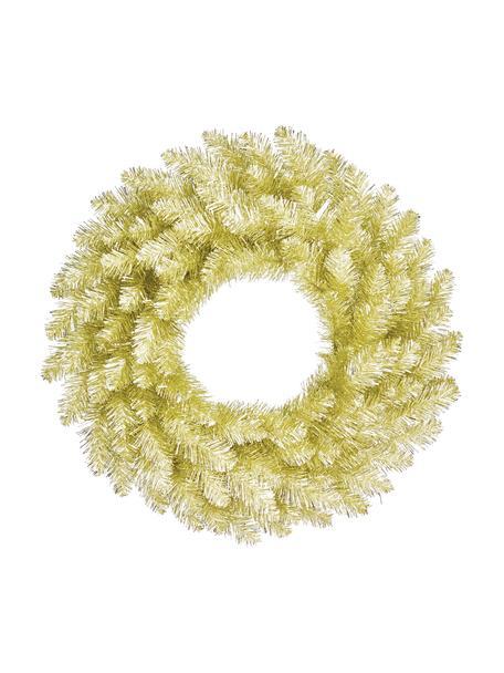 Künstlicher Weihnachtskranz Colchester Ø 60 cm, Kunststoff (PVC), Champagnerfarben, Ø 60 cm