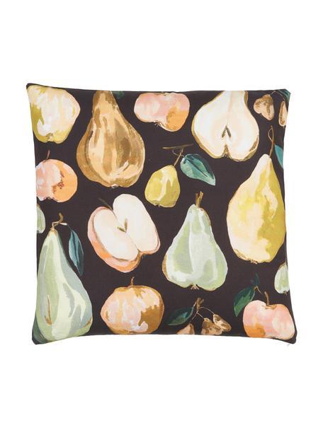 Funda de cojín Fruits, diseño Candice Gray, 100%algodón, certificado GOTS, Multicolor, An 45 x L 45 cm