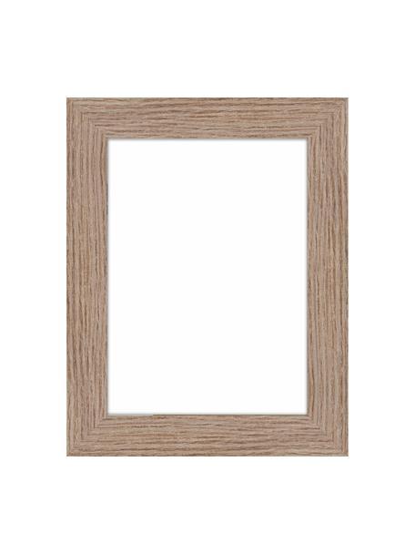 Bilderrahmen Oslo, Rahmen: Mitteldichte Holzfaserpla, Front: Glas, Rückseite: Mitteldichte Holzfaserpla, Hellbraun, 13 x 18 cm