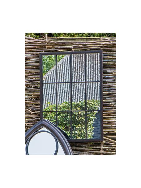 Lustro ścienne Zanetti, Czarny, S 50 x W 70 cm