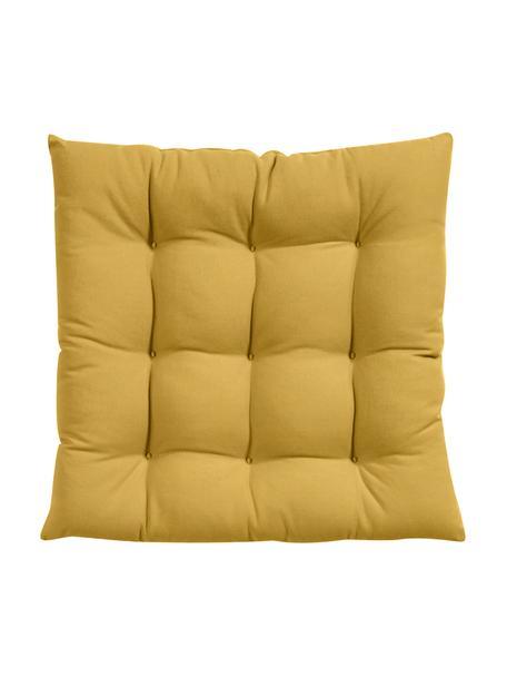 Poduszka na krzesło Ava, Żółty, S 40 x D 40 cm