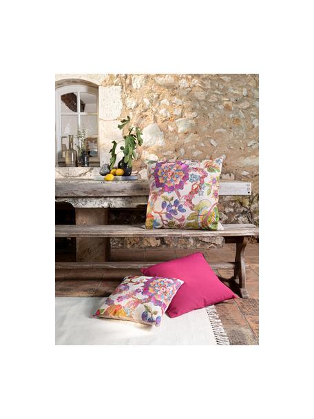 Poszewka na poduszkę Sharmila, Odcienie piaskowego, wielobarwny, S 45 x D 45 cm
