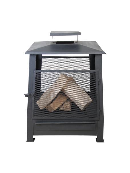 Estufa de exterior Pagode, Metal recubierto, Negro, An 59 x Al 78 cm