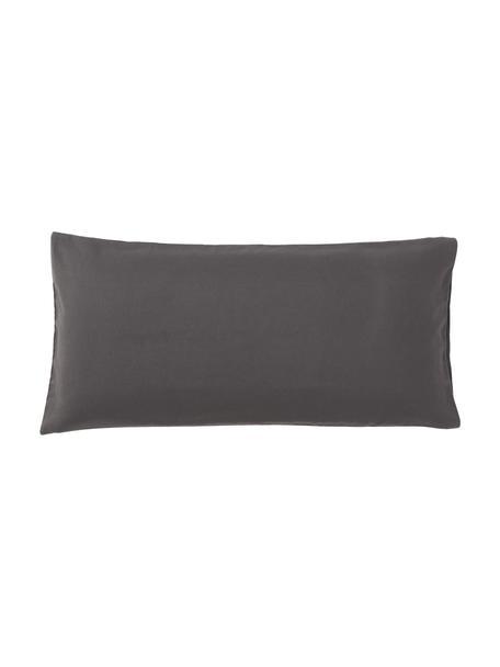 Poszewka na poduszkę z flaneli Biba, 2 szt., Ciemny zielony, S 40 x D 80 cm