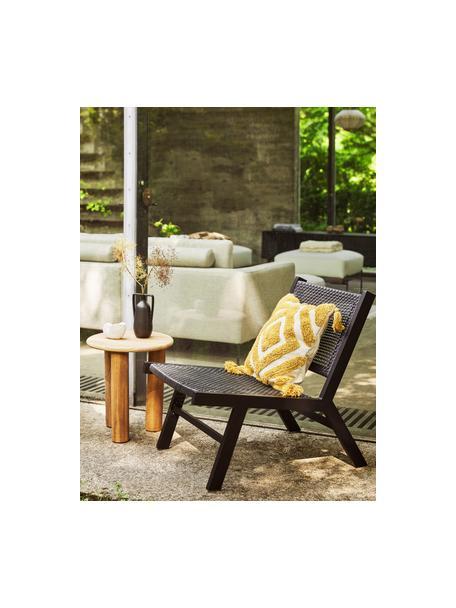 Poszewka na poduszkę Karina, 100% bawełna, Biały, beżowy, żółty, S 45 x D 45 cm