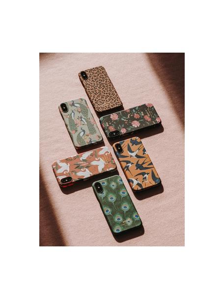 Hülle Savanna für iPhone X, Silikon, Braun, Schwarz, 7 x 15 cm