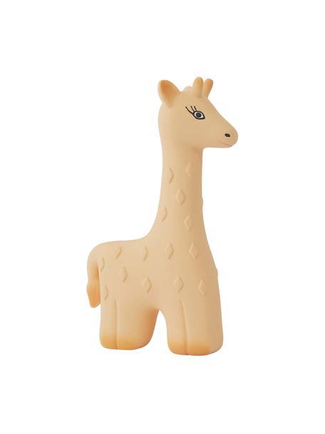 Giraffe Noah, Rubber, BPA en Ftalaten vrij, Beige, zwart, 10 x 15 cm