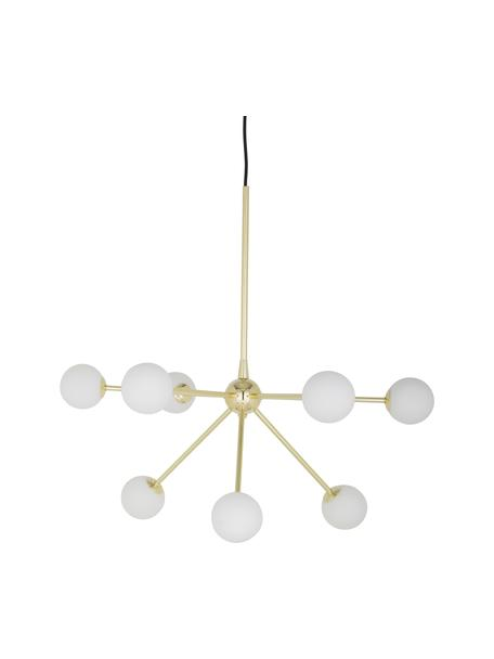 Grote hanglamp Space, Goudkleurig, B 81  x D 71 cm