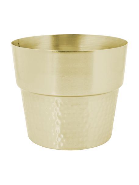 Porta vaso in acciaio Tibor, Acciaio inossidabile, Ottone, Ø 23 x Alt. 20 cm