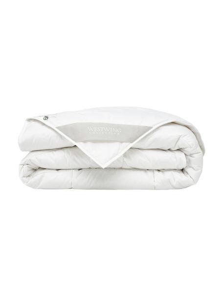 Wegańska kołdra z kapoka i bawełny, standard, Tapicerka: 100% bawełna, Biały, S 135 x D 200 cm