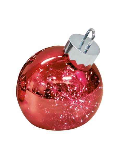 LED Leuchtobjekt Aggia, batteriebetrieben, Rot, Ø 20 x H 22 cm