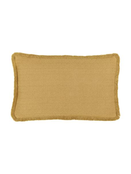 Wendekissenhülle Loran in Gelb, 100% Baumwolle, Gelb, 30 x 50 cm