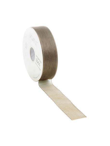 Geschenkband Origo, Polyester, Braun, 3 x 5000 cm
