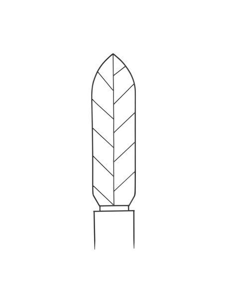 Pflanzenrankhilfe Lexi, Metall, beschichtet, Schwarz, 35 x 155 cm
