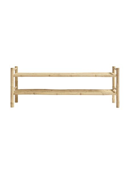 Bamboe tv-meubel Bamra, Bamboe, Lichtbruin, 150 x 55 cm