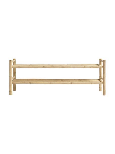 Szafka niska z drewna bambusowego Bamra, Drewno bambusowe, Jasny brązowy, S 150 x W 55 cm