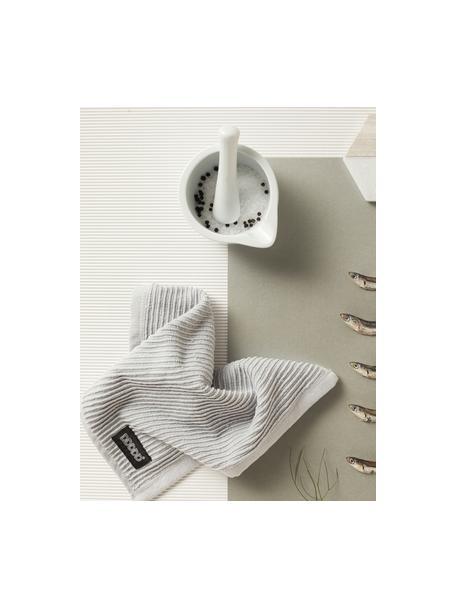 Paños de cocina Basic Clean, 4uds., Algodón, Gris, An 30 x L 30 cm