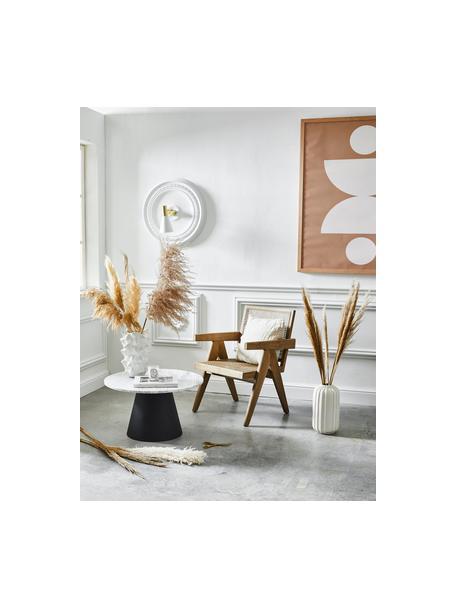 Loungesessel Sissi mit Wiener Geflecht, Gestell: Massives Eichenholz, Sitzfläche: Rattan, Eichenholz, Beige, B 58 x T 66 cm