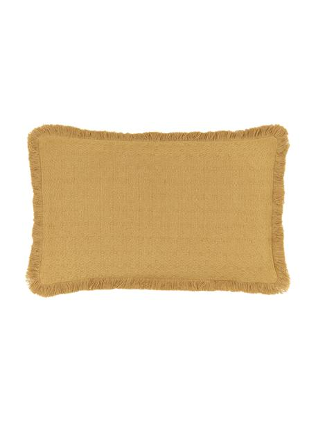 Funda de cojín Lorel, 100%algodón, Amarillo, An 30 x L 50 cm