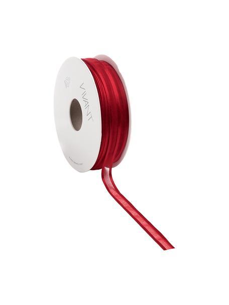Nastro regalo Pregia, Nylon, Rosso, Larg. 1 x Lung. 5000 cm