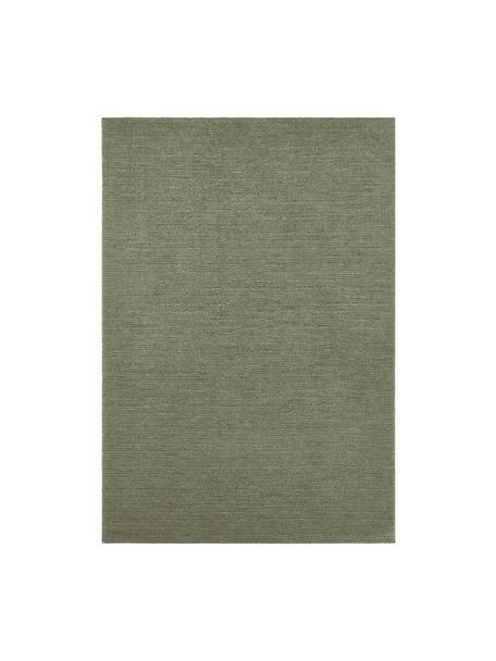Tappeto verde muschio Supersoft, 100% poliestere, Verde muschio, Larg. 160 x Lung. 230 cm (taglia M)