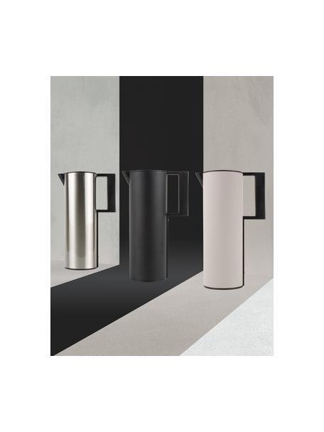 Thermoskan Soho in beige/zwart, Kunststof, Beige, 12 x 31 cm