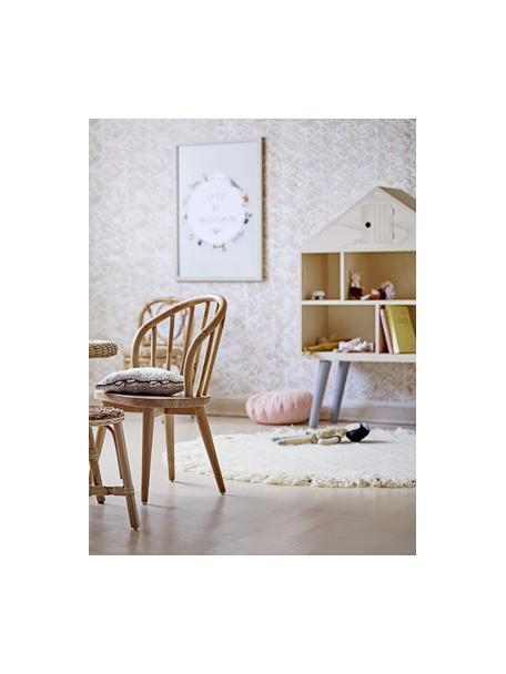 Casa de muñecas de madera de Paulownia Berndt, Madera de Paulownia, madera contrachapada, madera de pino, Marrón, An 70 x Al 105 cm