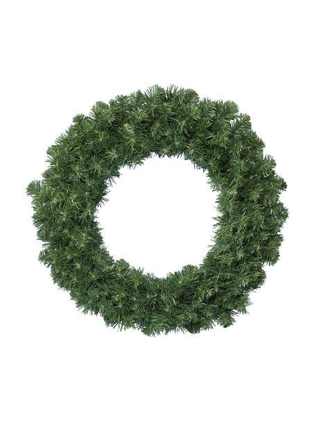 Kerstkrans Imperial, Kunststof, Groen, Ø 35 x H 8 cm